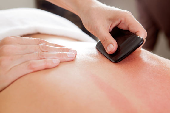 Gua Sha Treatments available at Peel Acupuncture & Traditional Chinese Medicine.