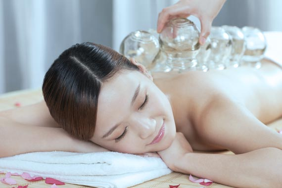 Cupping Therapy at Peel Acupuncture & Traditional Chinese Medicine.